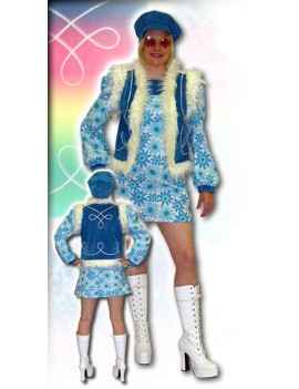 60s Twiggy Costume Make Believe AQ3A