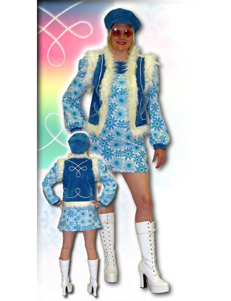 60s Twiggy Dress Set Costume Make Believe AQ3A