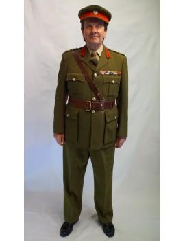 British Army Brigadier Adult Uniform Hire Costume GB16