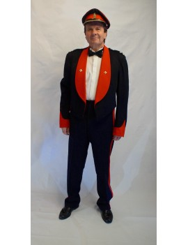 British Army Lieutenant Adult Mess Dress Uniform Hire Costume GB24