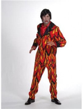 Devil Flame Suit Large