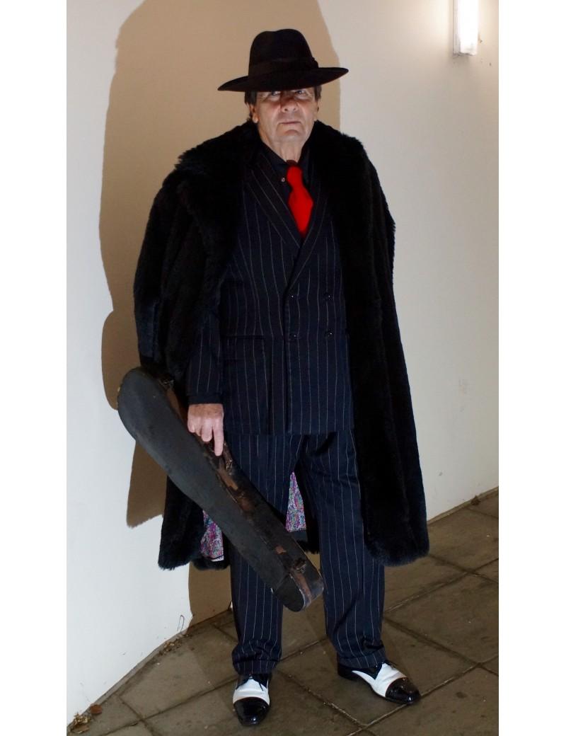 1920s 40s Gangster Striped Suit DG17A