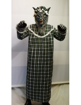 Grandma Wolf Hire Rental Costume Make Believe BX18D
