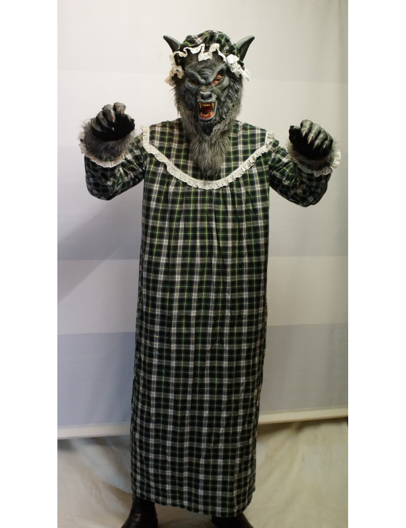 Grandma Wolf Costume Make Believe BX18D