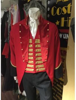 Greatest Showman Ringmaster Barnum Hire Costume