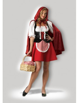 Red Riding Hood Hire Rental Costume In Character BX18C