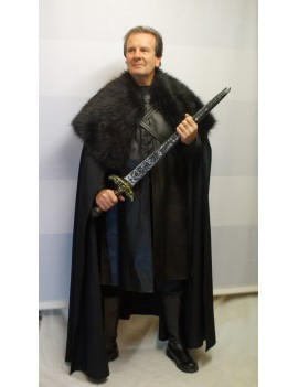 Game Of Thrones Jon John Snow Deluxe Costume Make Believe DE26