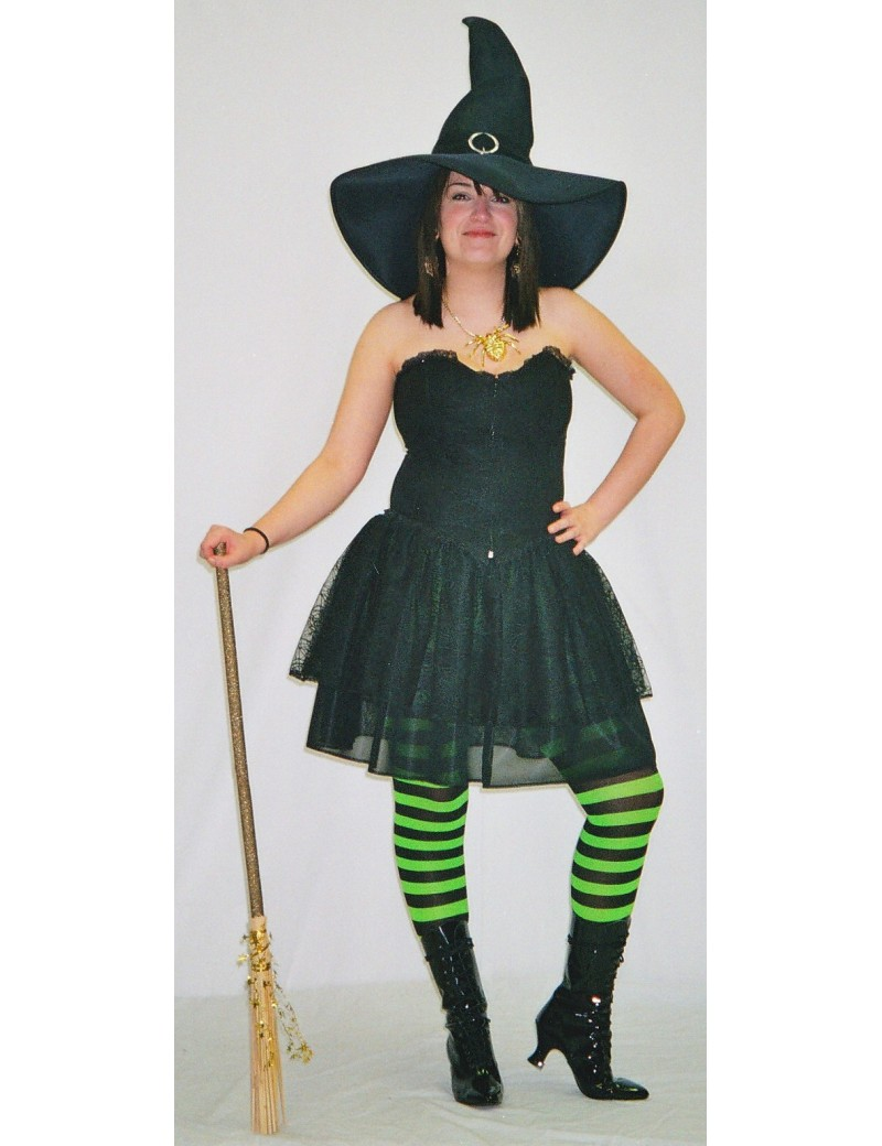 Witch Spiderweb Costume Make Believe Q2