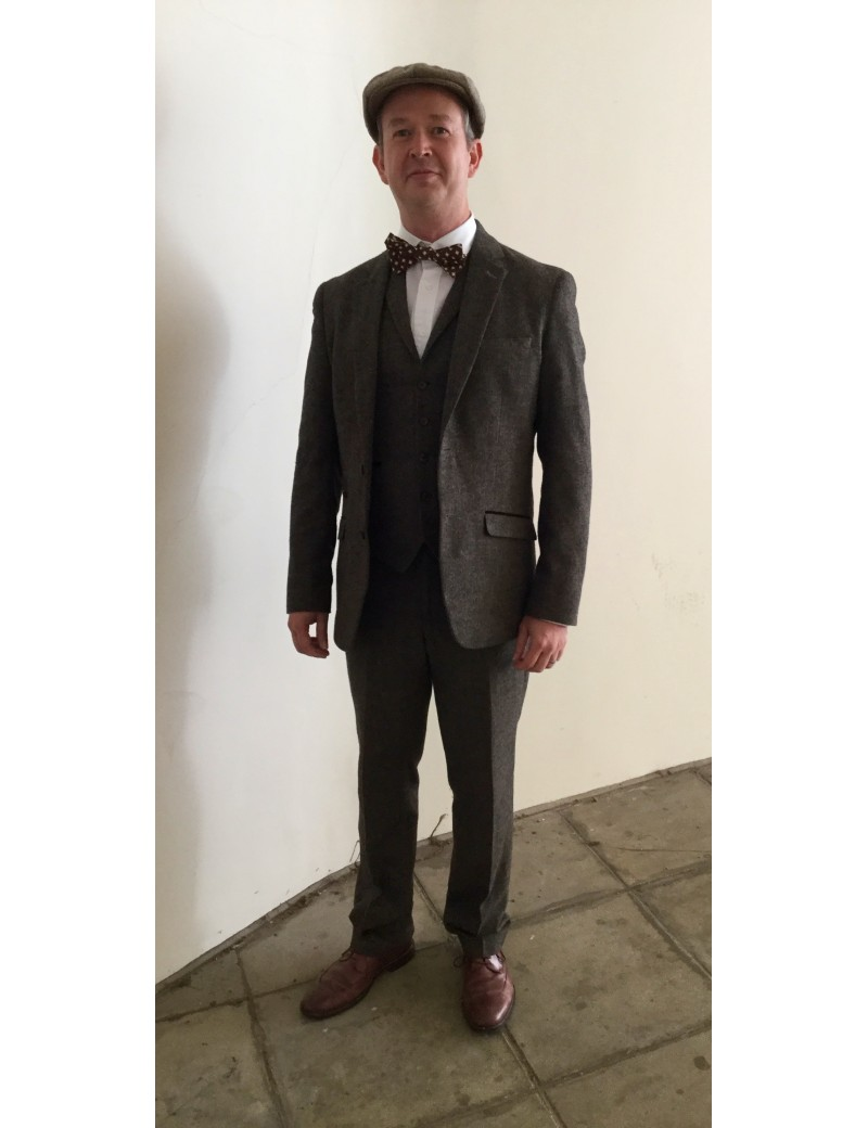 1920s Peaky Blinders Suit Hire Paul Cavalli
