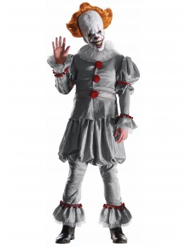 Pennywise Clown IT Hire Costume 2017 Rubies