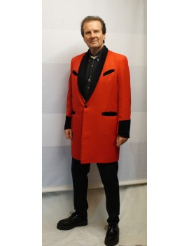 1950s Teddy Boy Suit Red DH18