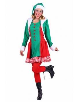 Santa Helpers Elf Womans Costume Thetru