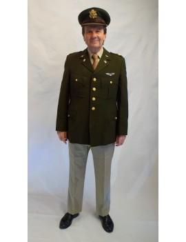 USAAF Army Air Corps Choc Adult Uniform Hire Costume FW4