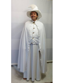 Gandalf  White Wizard Hire Costume Twos Company T11A