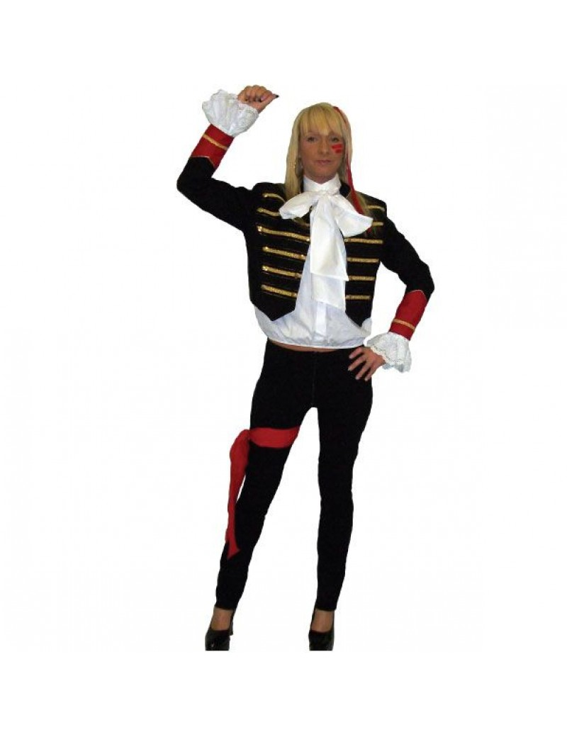 Adam Ant 80s 90s Hire Costume Make Believe BV22
