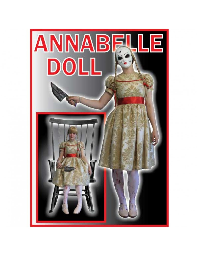 The Conjuring Annabelle Adult Halloween Costume Make Believe T2