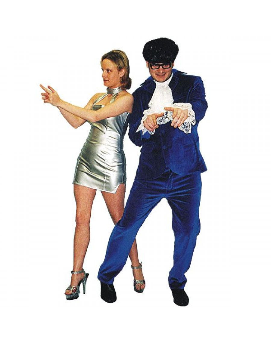 e85decd51871 Austin Powers Adult Costume Make Believe EW4 EW5A