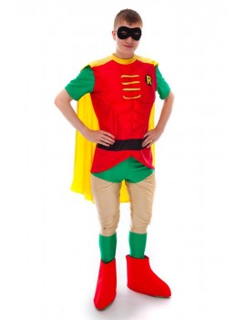 Batman Robin Rodney Costume Make Believe DC 9