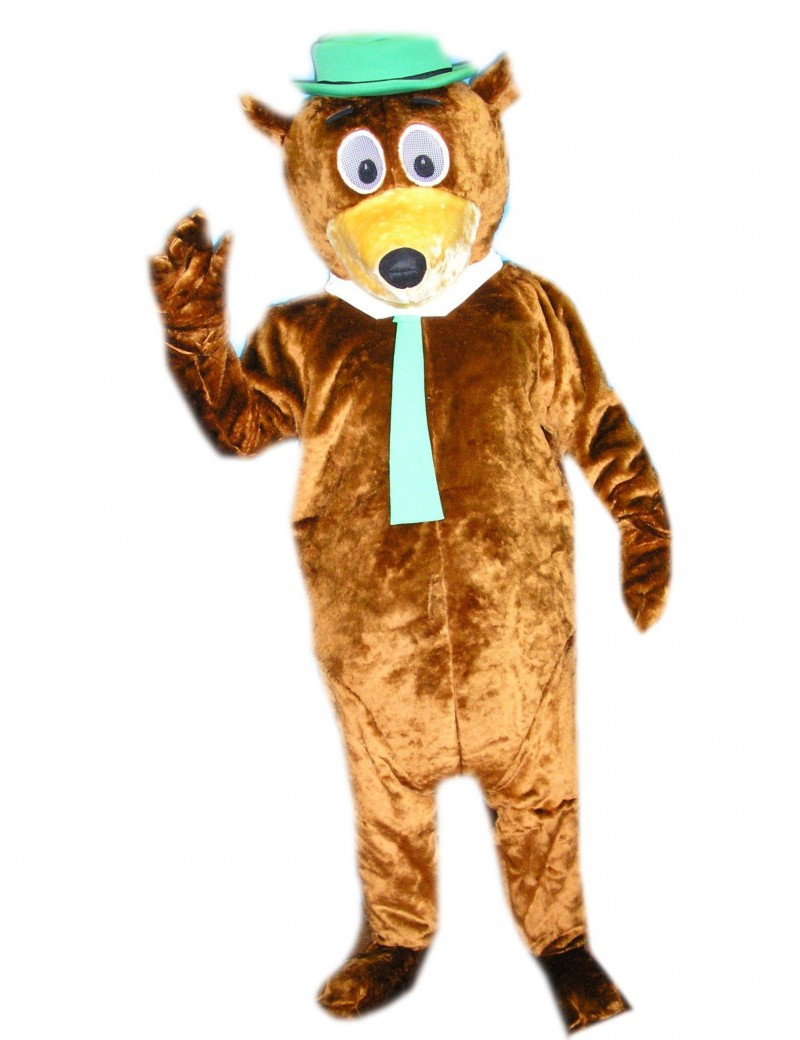 Bear Yogi 70s  80s deluxe cartoon tv hire rental costume