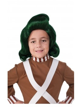 Charlie And The Chocolate Factory Oompa Loompa mens Roald Dahl tv film 70s fancy dress party costume BX1A BX1B
