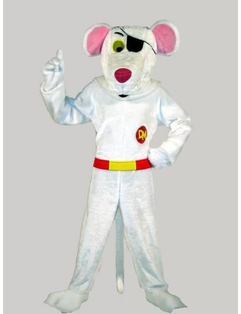 Danger Mouse 80s Secret Agent Costume