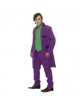 Dark Knight Joker Heath Ledger Deluxe hire rental costume Make Believe BW22A/B