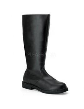 Character Black Long Boots Pleaser Captain -100