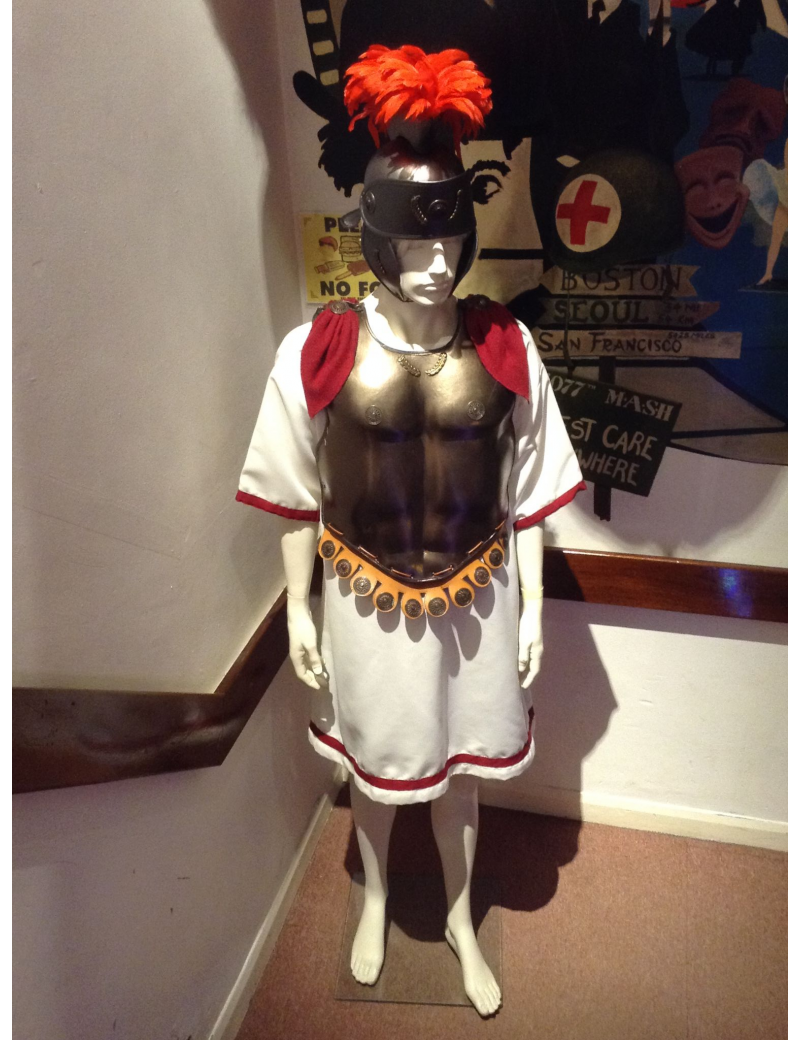 Roman Gladiator Adult Costume Le Piccole Cosi