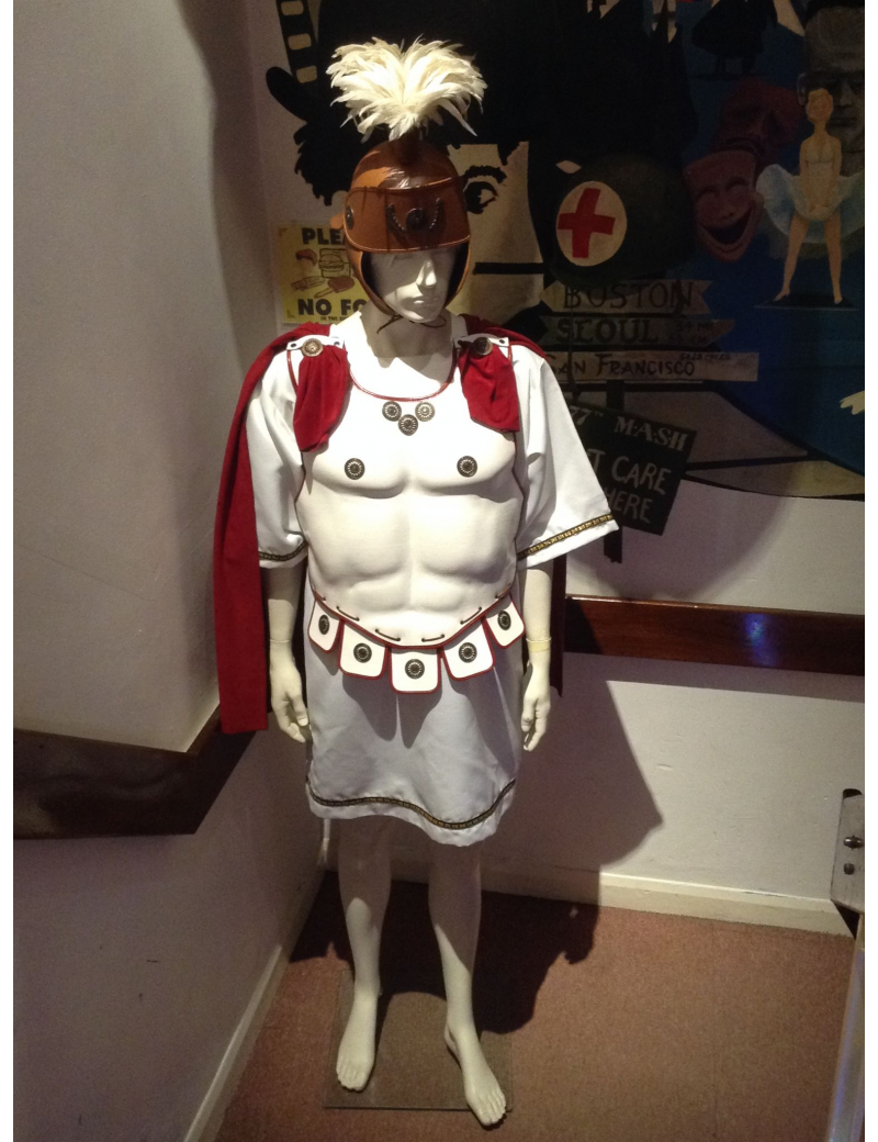 Roman Gladiator Mark Anthony Costume Le Piccole Cosi