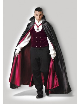Gothic Vampire mens Halloween fancy dress deluxe hire rental costume In Character T22 T22A