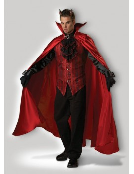 Handsome Devil Demon mens Halloween fancy dress deluxe hire rental costume In Character T24 T24A T24B