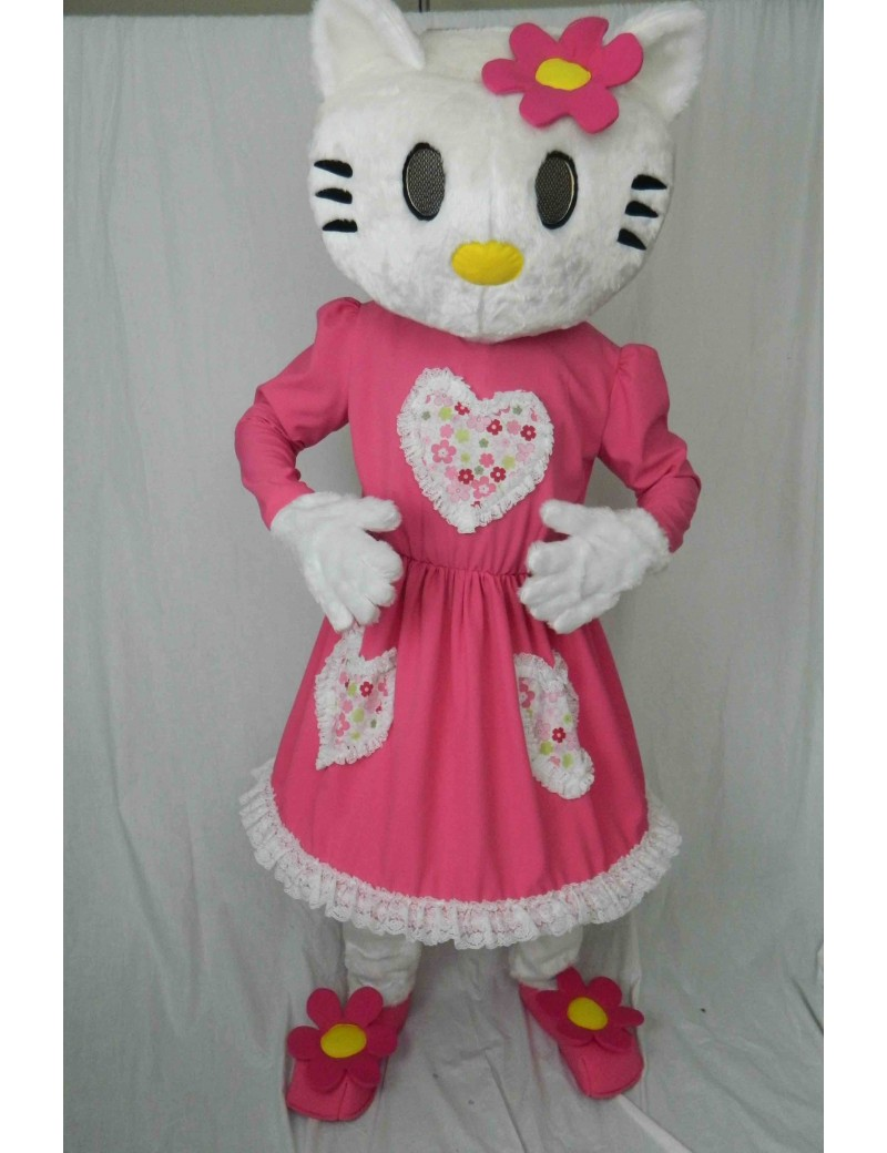 Hello Kitty girls  birthday party deluxe  rental mascot costume