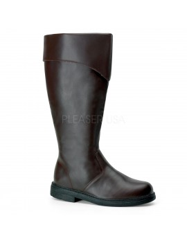 Character Long Brown Boots Pleaser Captain -100