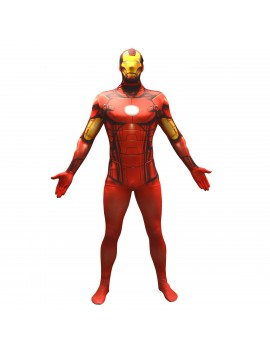 Morphsuit Ironman Marvel superhero mens boys teen fancy dress film tv costume party Morph suit MLIRMV