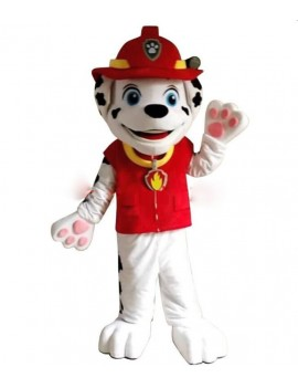 Paw Patrol Marshall dalmatian dog mens fancy dress cartoon tv hire rental costume Unbranded