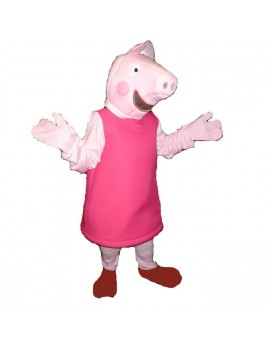 Peppa Pig  fancy dress cartoon tv mascot deluxe  hire rental costume