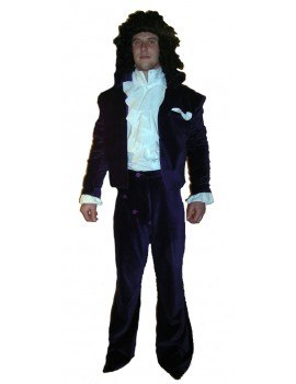 Prince Purple Rain 1984 Costume Make Believe DA17A