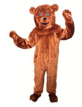 Rainbow Bungle Bear Mascot Costume