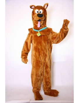 Scooby Doo dog mens fancy dress 70s  80s deluxe cartoon tv hire rental costume