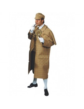 Sherlock Holmes mens detective deluxe tv film book day character fancy dress party Costume Magic By Freddys CG3A