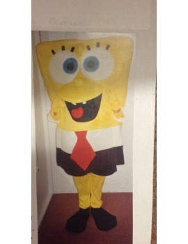 Sponge Bob Squarepants deluxe 90s  cartoon tv hire rental costume