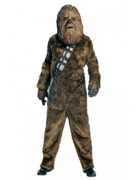 Star Wars Chewbacca  mens 70s  80s  tv film hire deluxe rental hero costume Rubies Masquerade CW3