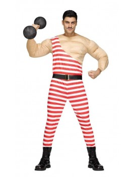 Strongman circus Victorian mens fancy dress costume party Palmer Agencies 3349A