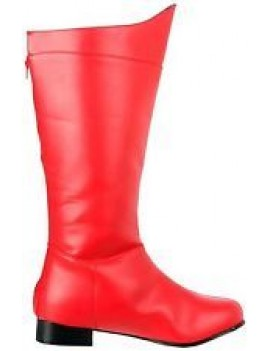 Superhero Red Boots Pleaser HERO-100