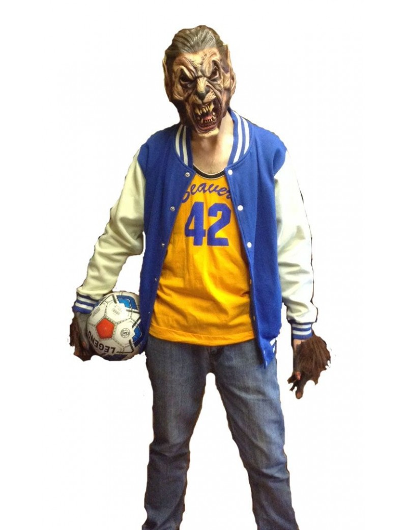 Teen Wolf mens 80s Costume Make Believe S1A