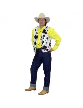 Toy Story Cowboy Sheriff  Woody Hire Costume BY3 BY3A
