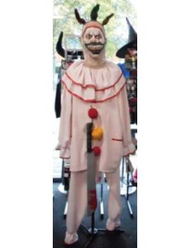 Twisty The Clown mens American Horror Story Halloween fancy dress tv hire rental costume Make Believe CI19A