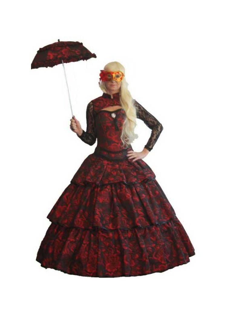 Victorian Lady Red Rose