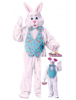 White Rabbit Easter Bunny  cartoon tv hire rental costume