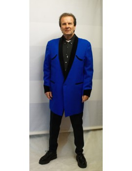 1950s Teddy Boy Suit Blue DH27A